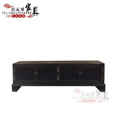 New Chinese TV cabinet, classical audio-visual cabinet, model room, model room, villa, teahouse, Hotel Furniture Customization Ready TV cabinet