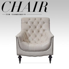 American Leather head layer cowhide, Italy import oil wax change skin, single leisure tiger chair sofa 529 Other Italy imported heavy oil wax skin change leather