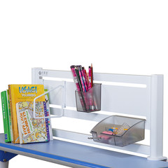 Heart home, Uranus, children's study table, flagship bookshelf, large copying rack, children's desk, combination rack White (606 bookshelves) suitable for 109 desks