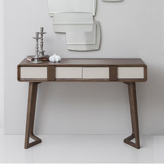 Namay style furniture Nordic style bedroom dresser dresser stool combination of modern minimalist large-sized apartment makeup table Ready Dressing mirror