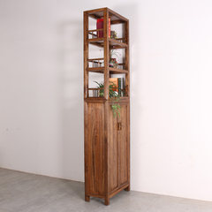Wood Shelves tea showcase of modern Chinese Display Shelf Bookcase simple partition furniture