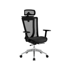 Classic fashion simple modern breathable mesh computer chair armrest rotary office chair executive chair Principal graph color Nylon foot Fixed armrest