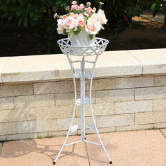 The balcony railing railing hanging wall flower flower iron balcony railing hanging balcony flower flower. 150*25*12CM