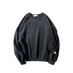 Autumn oversize Korean men loose long sleeved sweater ulzzang male couples dress winter fashion jacket 2XL black