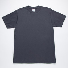 Japanese Printstar pure color T-shirt, loose cotton T-shirt, short sleeve shirt, heavy weight, male and female tide Choose weight first, then height Blue gray