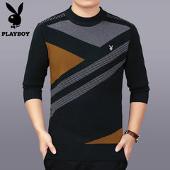 The winter middle-aged man neck sweater sweater thickened elderly father father put code warm sweaters 185 suggestions 180-200 catties Yellow 2283