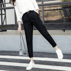 In the autumn of 2017 new Haren pants pants nine Korean loose casual pants feet pants suit all-match radish 3XL Autumn money -- suit material -- trousers