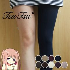 A small house or stovepipe socks Tights Pantyhose girls fall thick winter velvet Stockings Pantyhose anti snag Skin color (buy 10 to send 2) 5 red