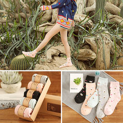 Winter socks socks cotton socks in winter, thick tube warm socks terry towel socks with cashmere wool for pregnant women Size 35-44 5 pairs of [ladies] cubs
