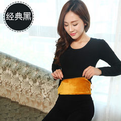 The winter thermal underwear with thickened slim lady cashmere cotton long johns student body tight backing suit Elasticity super good, about 100-135 pounds can wear 1807 black