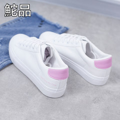 Tuo 2017 autumn and winter white shoe designer shoes all-match female student chic white shoes, casual shoes. Thirty-eight Powder