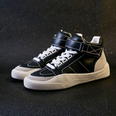 In the autumn of 2017 new high shoes shoes in Korean students increased all-match shoes casual shoes sports shoes tide Thirty-eight black