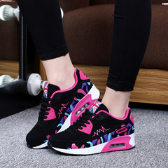 In autumn 2017 new Korean women shoes tide all-match students leisure sports shoes autumn wind ulzzang Harajuku Thirty-nine Black rose red