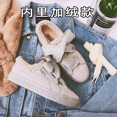 2017 new shoes female Korean flat shoes female Doug shoes all-match students in autumn and winter, British style leisure shoes Thirty-nine 760 meters grey