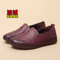Soft sole, sole sole, flat bottom, comfortable and comfortable Thirty-eight purple