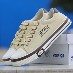 Warrior shoes mens shoes new running shoes all-match youth leisure autumn Forty-four white