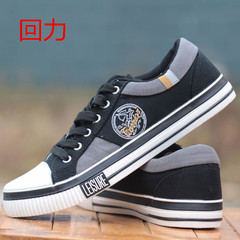 Warrior shoes men's shoes new low permeability for early autumn youth leisure shoes sports shoes Thirty-eight black