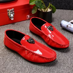 Li Yaoyang quickly with the Reds men shoes plus velvet shoes fall guy social spirit card Qi Doug shoes Forty-three 22 red