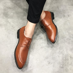 Men's shoes in summer and winter, shoes in English, shoes in business and leisure Forty-two brown