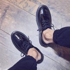 Shoes for men, shoes for men, autumn shoes for men, shoes for men for autumn, shoes for Martin Forty-five Black (stitching)