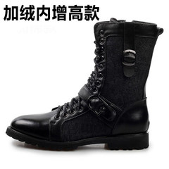 Martin boots, men's boots, men's boots, men's boots, winter boots, winter boots, boots Forty-three Black (with raised inside)