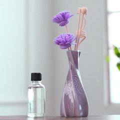 香薰精油瓶套装摆件干花家用香氛卧室内厕所除臭酒店香水熏香礼品 无烟香 紫卢兰
