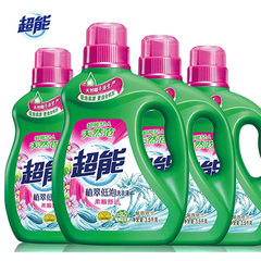 [] Super Store FCL low foam washing liquid Zhi Cui Yilan 3.5kg*4 value of 28 pounds a bottle of sweet home