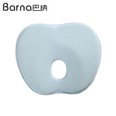 Wholesale customized baby pillow to prevent baby slant head baby memory pillow soft and slow rebound Blue apple baby pillow 235 * 215 * 30 mm