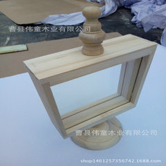 New European solid wood frame 18 * 16 * 5 mm high 32 mm