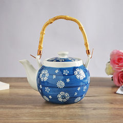 It is to live in Japanese style and wind hand-painted exquisite small teapot pottery teapot teapot t trivia