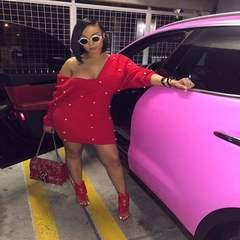 L5167-红 欧美女装 亚马逊热销 欧美性感长袖包臀连衣裙 红色 S