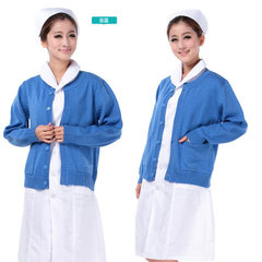 Norman licensed manufacturers direct selling medical nurses thickened cardigans pink l