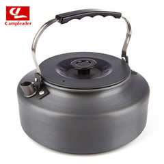 Outdoor tea kettle 1.6L portable coffee pot imported material kettles camping self-drive fishing sup 1.5 L