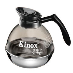 Jianleshi thermal insulation 304 stainless steel base PC plastic harbor type classic kinox professio transparent 1.8 L
