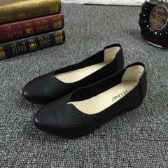 Wholesale women`s shoes in four seasons single shoe flat flat flat flat flat flat flat soft - end sh white 35