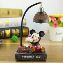 Mickey Mouse mickey Minnie small night lamp creative personality novel student birthday present resi XT055 - A, 9 * 6.5 * 17 cm
