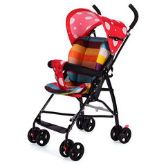 Children`s baby strollers umbrella folding cart portable baby strollers umbrella car factory price d blue