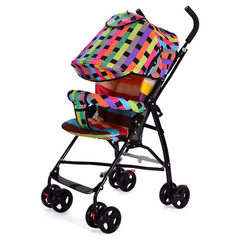 Folding baby cart portable baby stroller factory price direct sale baby stroller quality umbrella ca blue
