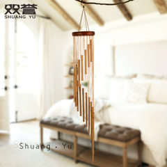 Revolving music metal wind bell wholesale home decoration hanging decoration door decoration busines 35