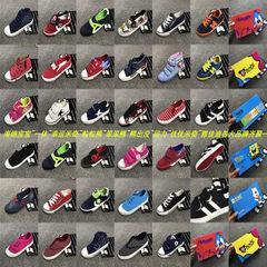 品牌儿童休闲帆布鞋地摊跑量甩卖便宜新款秋款库存鞋幸运米奇 多款多色 24-37大小各一半
