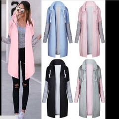 Fast selling foreign trade hot sales 2017 European and American women`s clothing new autumn and wint pink s.