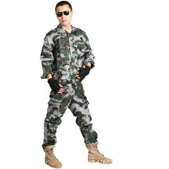 Factory direct selling camouflage uniform sets for students military training uniforms outdoor labor The jungle suit 170