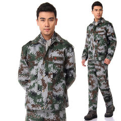 Changsheng factory direct selling 07 students military training digital camouflage suit outdoor deve 07 digital camouflage 160 small