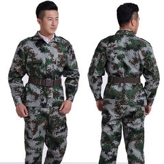 Male army digital special unit camouflage training outdoor military training special warfare camping Figure 2.07 digital camouflage m