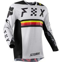 Fast descent suit fox TLD bicycle suit cycling suit bodysuit racing suit long-sleeve motorcycle suit white XXS