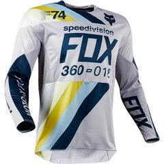 Crash suit fox TLD bicycle suit cycling suit bodysuit racing suit long-sleeve motorcycle suit manufa white XXS