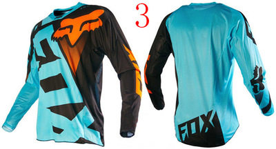 Downhill suit cycling wear long sleeve shirt men`s summer mountain bike cross-country motorcycle sui Styles 3 s.