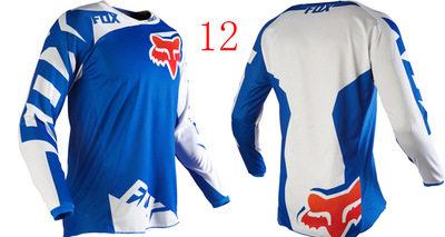 Downhill cycling wear cycling wear long-sleeve shirt men`s summer short-sleeved mountain bike cross- 12 s.