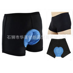 Manufacturer wholesale COOLMAX cycling underwear cycling pants silicone pad cycling shorts men`s hig black m