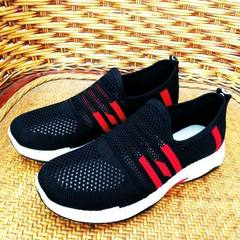 New Beijing mesh shoes air permeable mesh upper shoes sports casual shoes a foot pedal soft mother s black 36